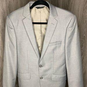 Grey Blazer Slim Fit